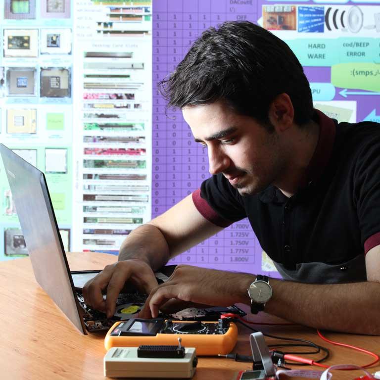 آموزش تعمیر برد های کامپیوتر و لپ تاپ