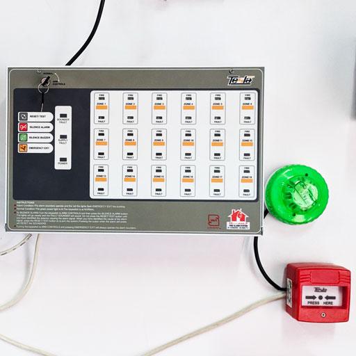 مشاور آموزش نصب پنل اعلام حریق