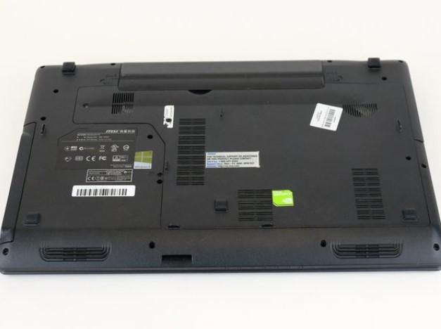 تعویض پنل پشتی MSI GP60 2PE Leopard