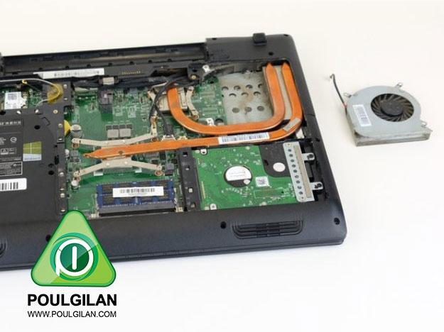 تعویض فن MSI GP60 2PE Leopard
