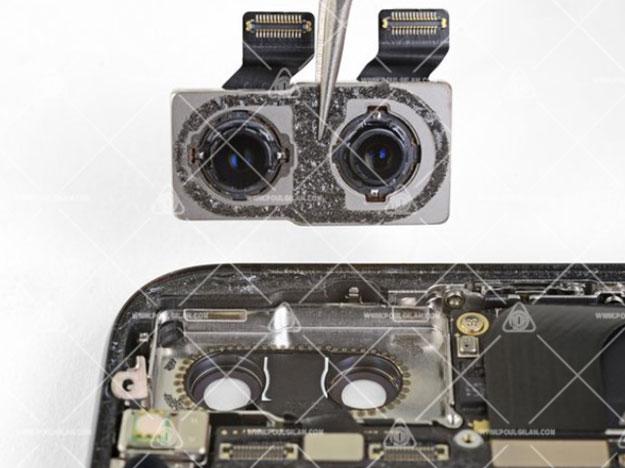 تعویض دوربینهای عقب آیفون X