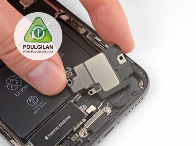 تعویض اسپیکر iPhone X
