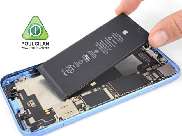 تعویض باتری iPhone XR