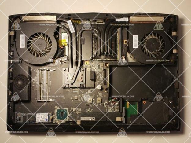 تعویض اسپیکر MSI GT62VR 6RD Dominator