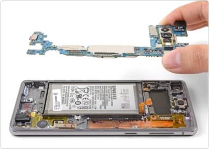 تعویض مادربرد Samsung Galaxy S10