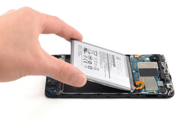 تعویض باتری Samsung Galaxy A10