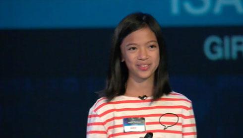 ایزابل (Isabel Sieh) نوجوان برنامه نویس
