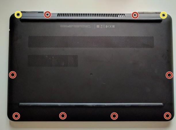 تعویض هارد لپ تاپ HP 15-ax280nd