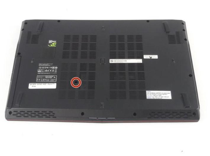 تعویض رم MSI GE62 6QF Apache Pro