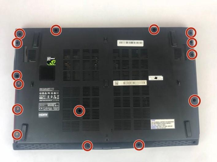 تعویض باتری MSI GE62 Apache Pro 004