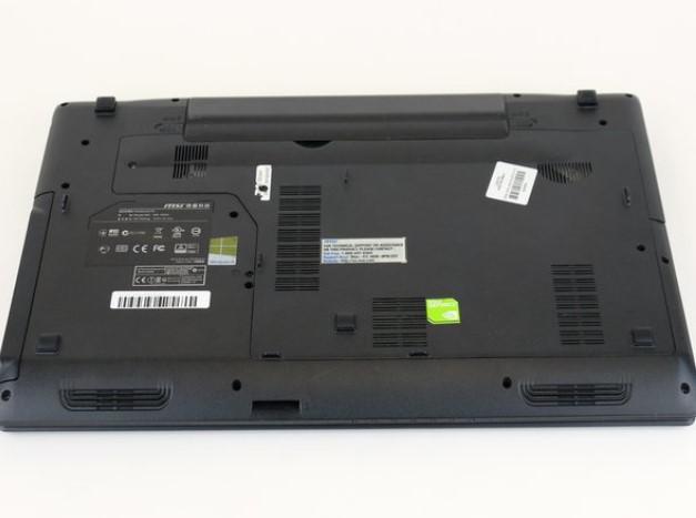 باز کردن پنل پشتی MSI GP60 2PE Leopard