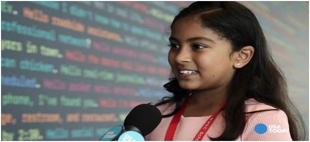 آنویتا ویجی (Anvitha Vijay) جوانترین برنامه نویس اپ استور