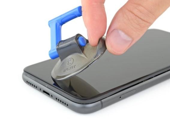 باز کردن پنل جلو iphone 11