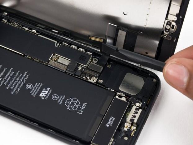 جدا کردن صفحه نمایش آیفون 7