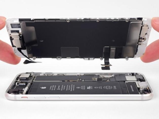 جدا کردن صفحه نمایش آیفون 8