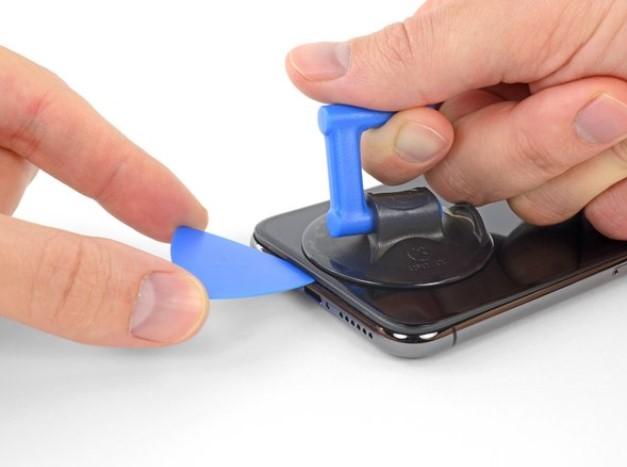مراحل باز کردن گوشی iPhone X